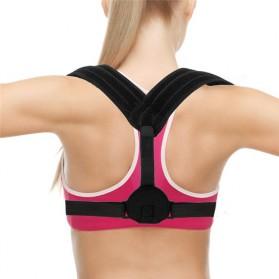 Tali Korektor Postur Punggung Body Harness Support Belt 90-110cm - 10223 - Black - 5