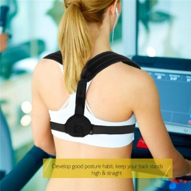 Tali Korektor Postur Punggung Body Harness Support Belt 90-110cm - 10223 - Black - 6