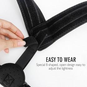 Tali Korektor Postur Punggung Body Harness Support Belt 90-110cm - 10223 - Black - 10