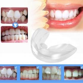 Dessa Dental Silikon Korektor Bentuk Gigi Orthodontic Teeth Retainer - B0778D - White
