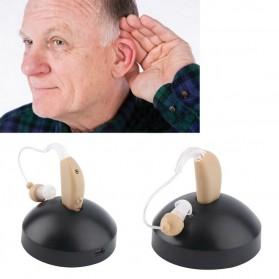 Alat Bantu Dengar Hearing Aid Rechargeable - ZDB-100 - Beige