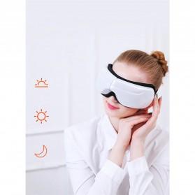 Alat Pijat Mata Elektrik Rechargeable Smart Folding Eye Massage - C11 - White - 3
