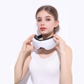 Alat Pijat Mata Elektrik Rechargeable Smart Folding Eye Massage - C11 - White - 5