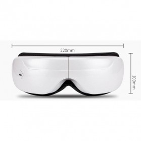 Alat Pijat Mata Elektrik Rechargeable Smart Folding Eye Massage - C11 - White - 7