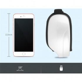 Alat Pijat Mata Elektrik Rechargeable Smart Folding Eye Massage - C11 - White - 8