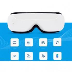Alat Pijat Mata Elektrik Rechargeable Smart Folding Eye Massage - C11 - White - 9