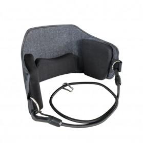 Smelov Neck Hammock Pain Relief Alat Terapi Leher Pundak dan Kepala - SM18-518-2 - Black
