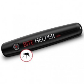 BITE HELPER Pena Pereda Rasa Gatal Mosquito Itching Therminator Relief Pen - Black