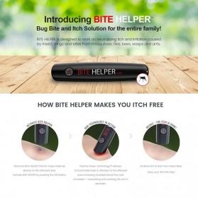 BITE HELPER Pena Pereda Rasa Gatal Mosquito Itching Therminator Relief Pen - Black - 2