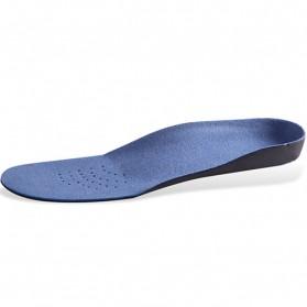 Alas Kaki Sepatu EVA Flatfoot Orthopedic Feet Cushion Massage Insole Size 34-37 - E003 - Blue - 4