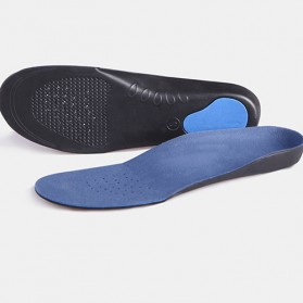 Alas Kaki Sepatu EVA Flatfoot Orthopedic Feet Cushion Massage Insole Size 44-47 - E003 - Blue - 5