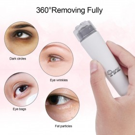 Sincere Alat Pijat Mata Electric Pen Eye Mini Massager Anti Aging - SM17 - White