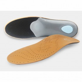 KOTLIKOFF Insole Alas Sepatu Kulit Arch Correction Sweat Absorbent Size 39-40 - MJ020 - Brown - 3