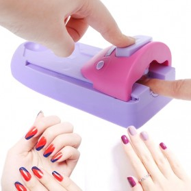 GCOCL Nail Art Printer Kuku UV LED Nail Stamper Machine - 1-2003 - Purple
