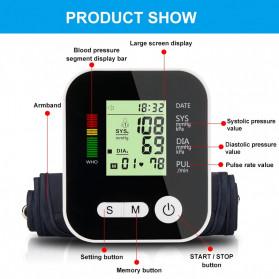 TaffOmicron Pengukur Tekanan Darah Tensi Electronic Blood Pressure Monitor - RAK-283 - White - 4