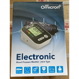 TaffOmicron Pengukur Tekanan Darah Tensi Electronic Blood Pressure Monitor - RAK-283 - White - 6