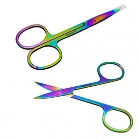 Weinisite Gunting Alis Kutikula Dead Skin Eyebrow Trimming Scissor - L6037 - Multi-Color - 2