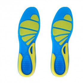 Faddare Alas Kaki Sepatu Shock Absorb Orthopedic Insole Size L - MJ003 - Blue - 3
