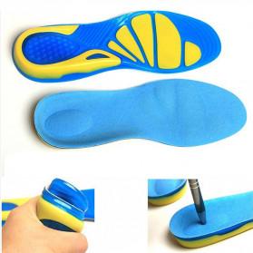 Faddare Alas Kaki Sepatu Shock Absorb Orthopedic Insole Size L - MJ003 - Blue - 5