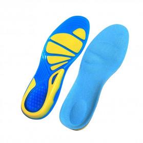 Faddare Alas Kaki Sepatu Shock Absorb Orthopedic Insole Size L - MJ003 - Blue - 6