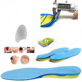 Faddare Alas Kaki Sepatu Shock Absorb Orthopedic Insole Size S - MJ003 - Blue - 3