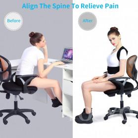 YOSYO Belt Magnetic Terapi Koreksi Postur Punggung Size L - Y11002 - Black - 3