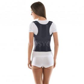 YOSYO Belt Magnetic Terapi Koreksi Postur Punggung Size L - Y11002 - Black - 6