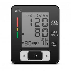 Pr Sung Pengukur Tekanan Darah Electronic Sphygmomanometer Heart Rate - CK-W133 - Black - 4