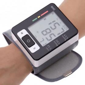 Pr Sung Pengukur Tekanan Darah Electronic Sphygmomanometer Heart Rate - CK-W133 - Black - 5