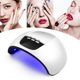 Inlife Pengering Kutek Kuku UV LED Nail Dryer 45W - SP180 - White