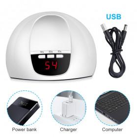 Inlife Pengering Kutek Kuku UV LED Nail Dryer 45W - SP180 - White - 4