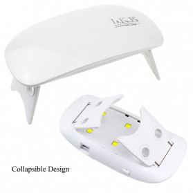 Inlife Pengering Kutek Kuku UV LED Nail Dryer 45W - SP180 - White - 9
