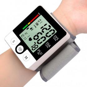 JZIKI Pengukur Tekanan Darah Electronic Sphygmomanometer with Voice - CK-132 - Black
