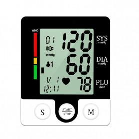 JZIKI Pengukur Tekanan Darah Electronic Sphygmomanometer with Voice - CK-W132 - Black - 2