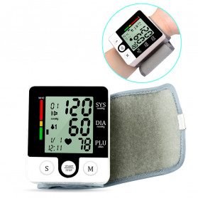JZIKI Pengukur Tekanan Darah Electronic Sphygmomanometer with Voice - CK-W132 - Black - 3