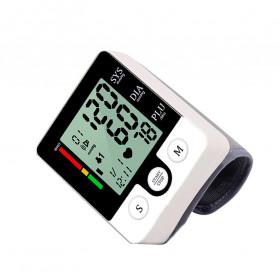 JZIKI Pengukur Tekanan Darah Electronic Sphygmomanometer with Voice - CK-W132 - Black - 4