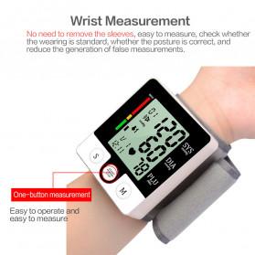 JZIKI Pengukur Tekanan Darah Electronic Sphygmomanometer with Voice - CK-W132 - Black - 5