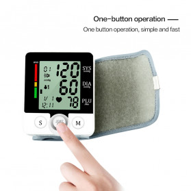 JZIKI Pengukur Tekanan Darah Electronic Sphygmomanometer with Voice - CK-W132 - Black - 7