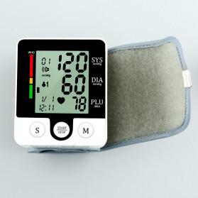 JZIKI Pengukur Tekanan Darah Electronic Sphygmomanometer with Voice - CK-W132 - Black - 8