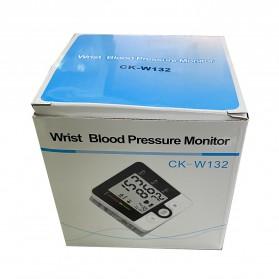 JZIKI Pengukur Tekanan Darah Electronic Sphygmomanometer with Voice - CK-W132 - Black - 9