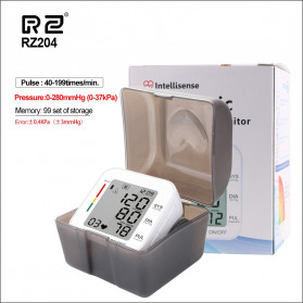 RZ Pengukur Tekanan Darah Electronic Sphygmomanometer with Voice - RZ204 - White