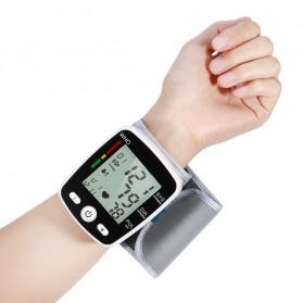 OLIECO Pengukur Tekanan Darah Electronic Sphygmomanometer with Voice - CK-W355 - Black - 3