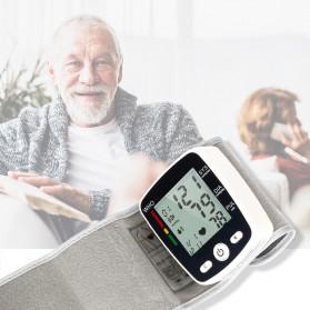 OLIECO Pengukur Tekanan Darah Electronic Sphygmomanometer with Voice - CK-W355 - Black - 6