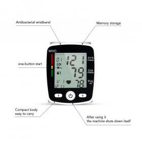 OLIECO Pengukur Tekanan Darah Electronic Sphygmomanometer with Voice - CK-W355 - Black - 8