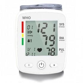 OLIECO Pengukur Tekanan Darah Electronic Sphygmomanometer with Voice - CK-W355 - White