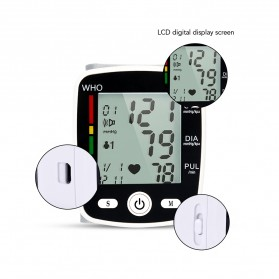 OLIECO Pengukur Tekanan Darah Electronic Sphygmomanometer with Voice - CK-W355 - White - 2