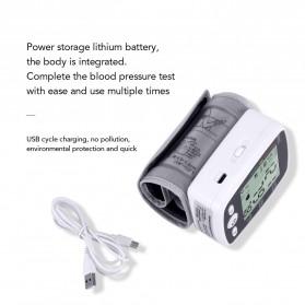 OLIECO Pengukur Tekanan Darah Electronic Sphygmomanometer with Voice - CK-W355 - White - 7