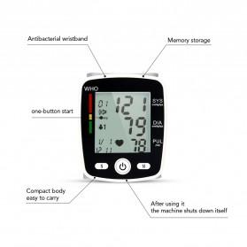 OLIECO Pengukur Tekanan Darah Electronic Sphygmomanometer with Voice - CK-W355 - White - 8