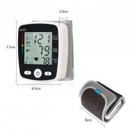 OLIECO Pengukur Tekanan Darah Electronic Sphygmomanometer with Voice - CK-W355 - White - 9