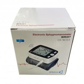 OLIECO Pengukur Tekanan Darah Electronic Sphygmomanometer with Voice - CK-W355 - White - 10